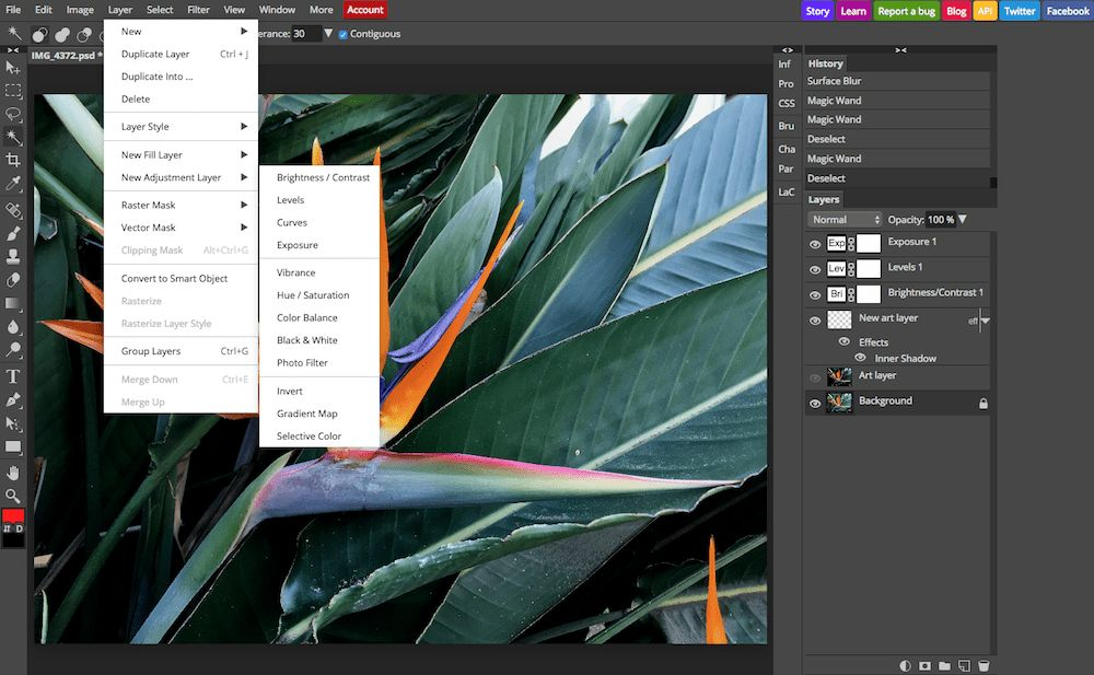 Photoshop Alternatives: The 10 Best Free Online Photo Editors