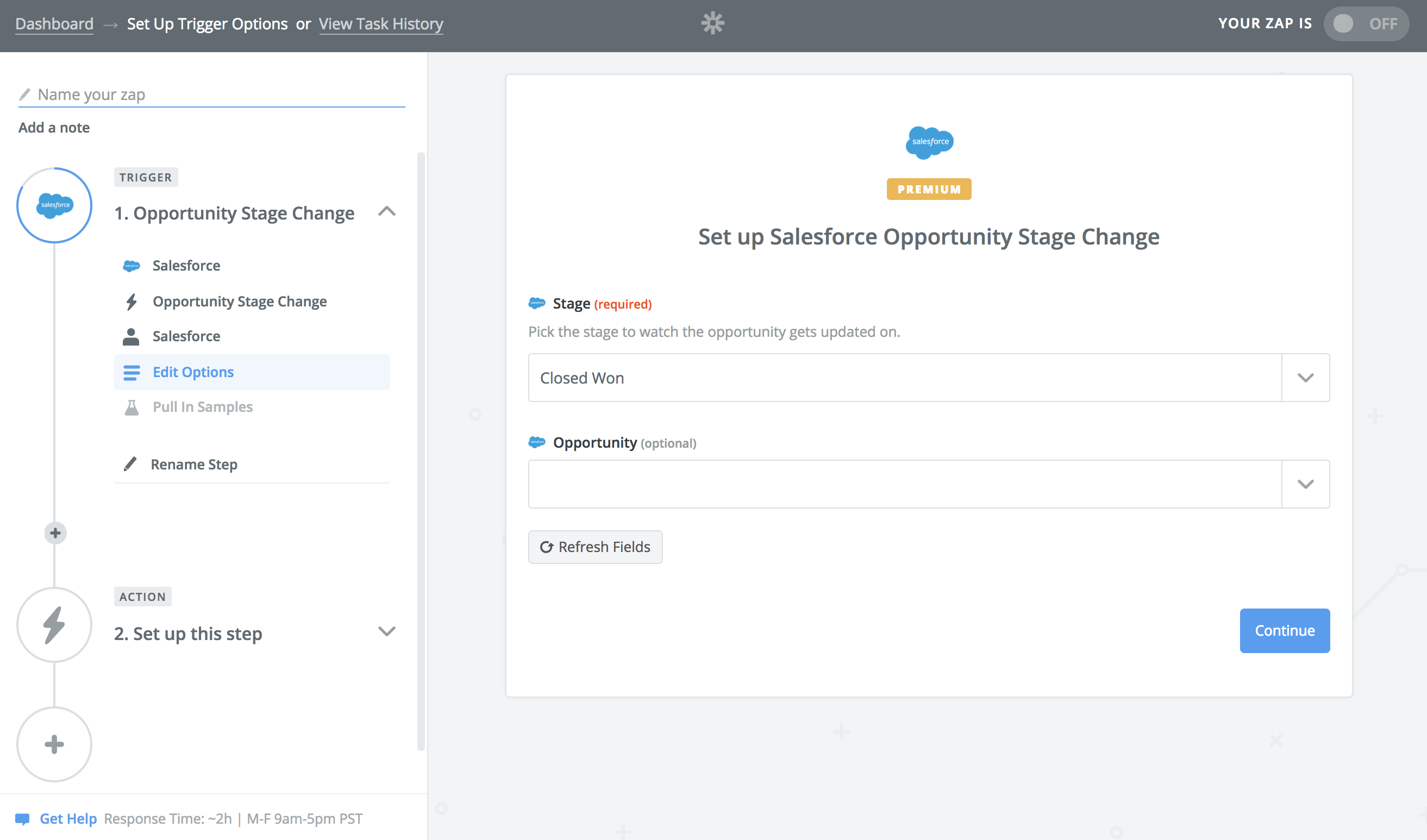 Thumbnail for New for Our Salesforce Integration: Start a Workflow When Opportunities Change Stage