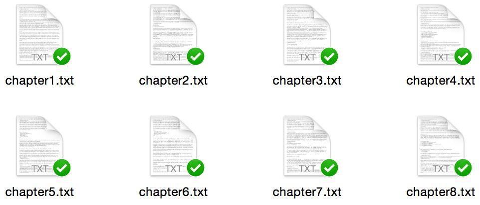 eBook files