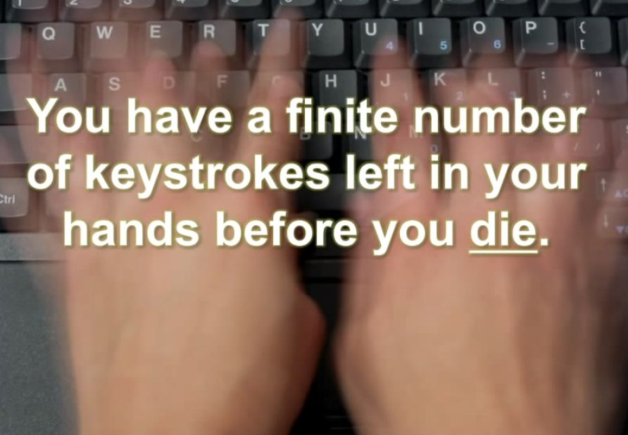 Conserve Your Keystrokes