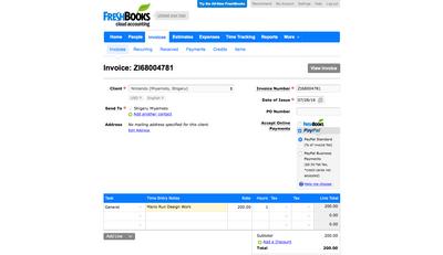 FreshBooks Classic Screenshot (3)