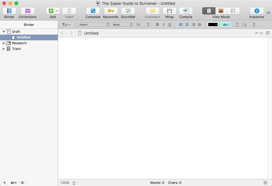 How to Get Started with Scrivener: The Writing App for