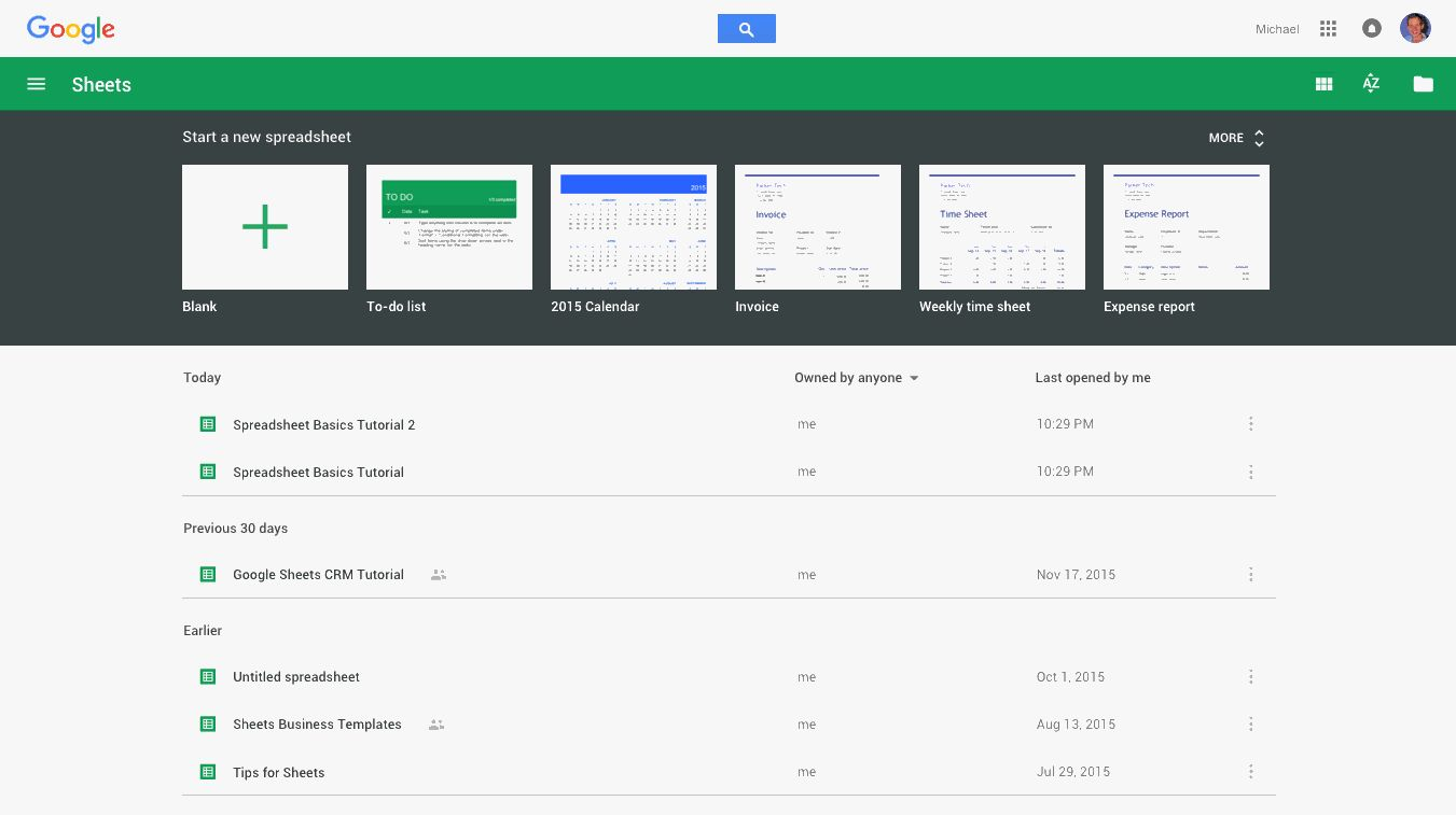 Google Sheets offline mode