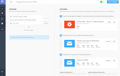 Image for Send Targeted Emails With Route