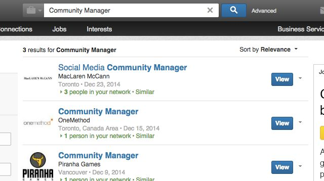 Find top candidates on LinkedIn through search