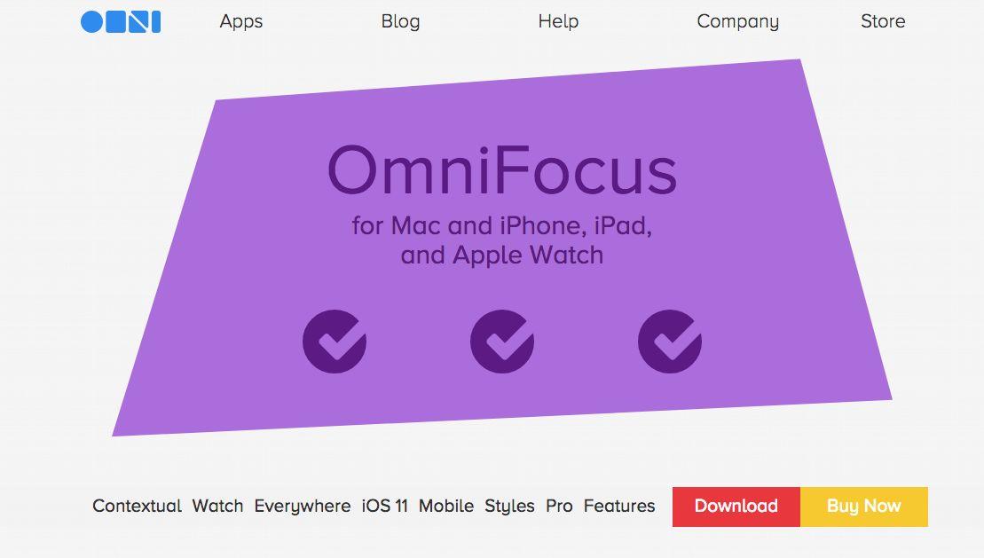 OmniFocus Screenshot