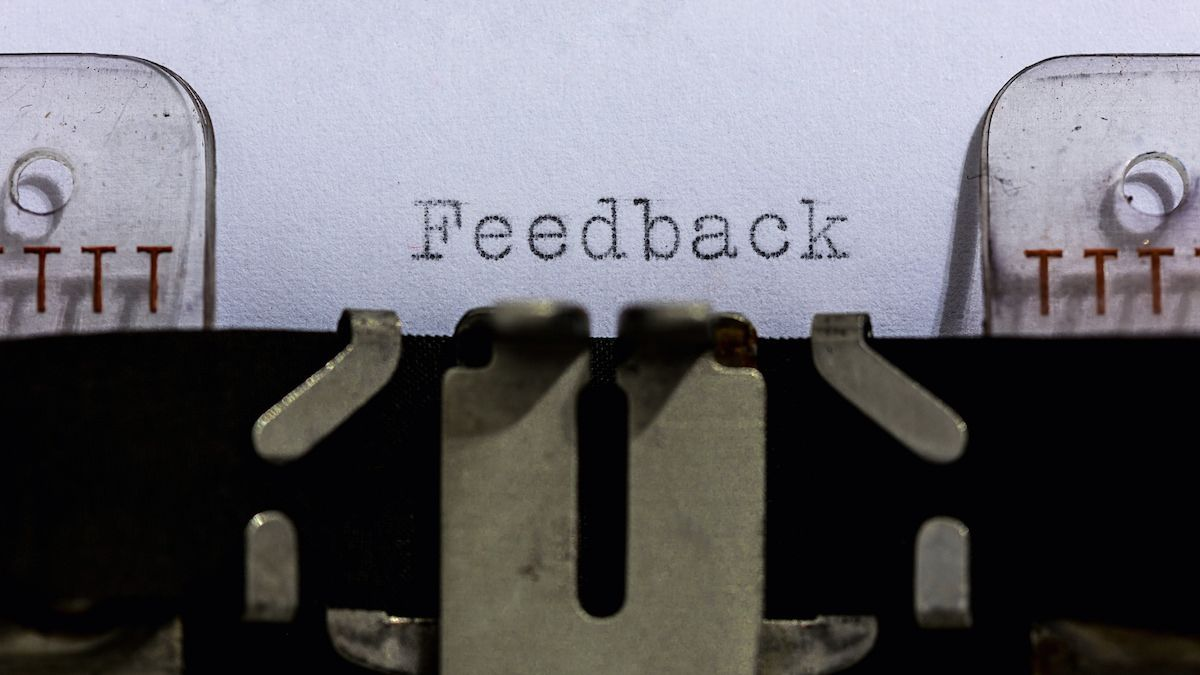 feedback typewriter