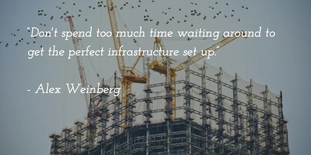 alex weinberg quote