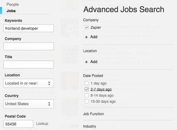 Find freelance clients on LinkedIn