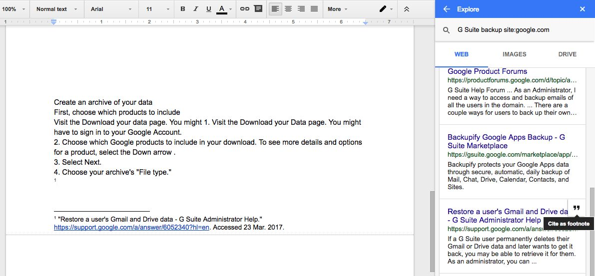 How to Gather Research and Create a Bibliography in Google Docs