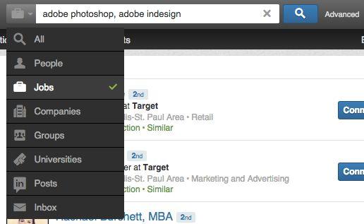 Find jobs on LinkedIn