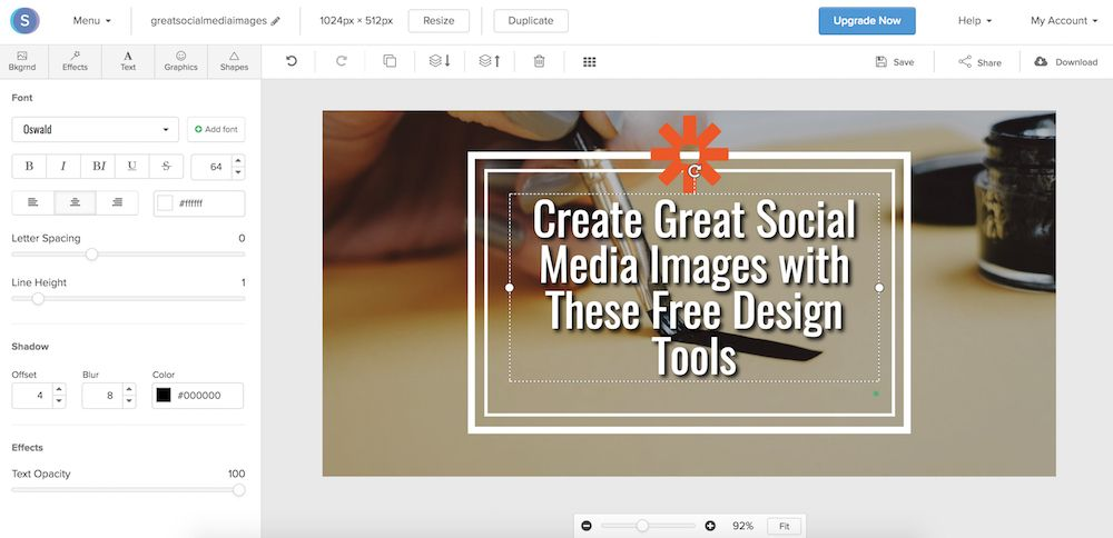 The 6 Best Free Design Tools to Create Social Media Graphics