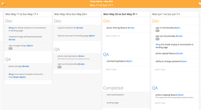 Image for Plan and Manage Projects with Sandglaz and Zapier