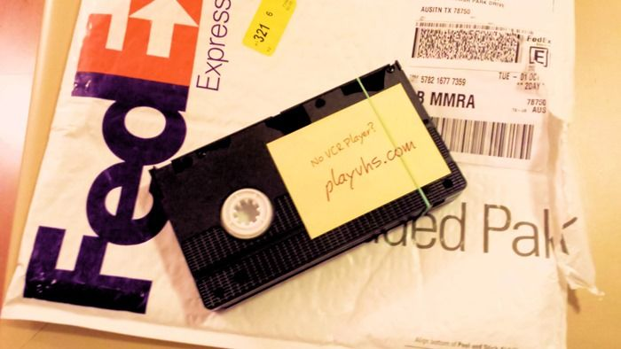 Grasshopper VHS in the mail
