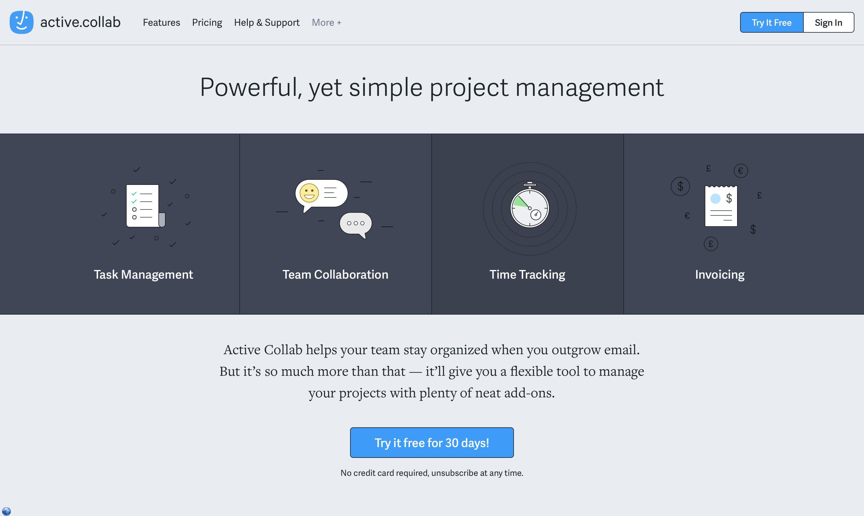Active Collab Screenshot