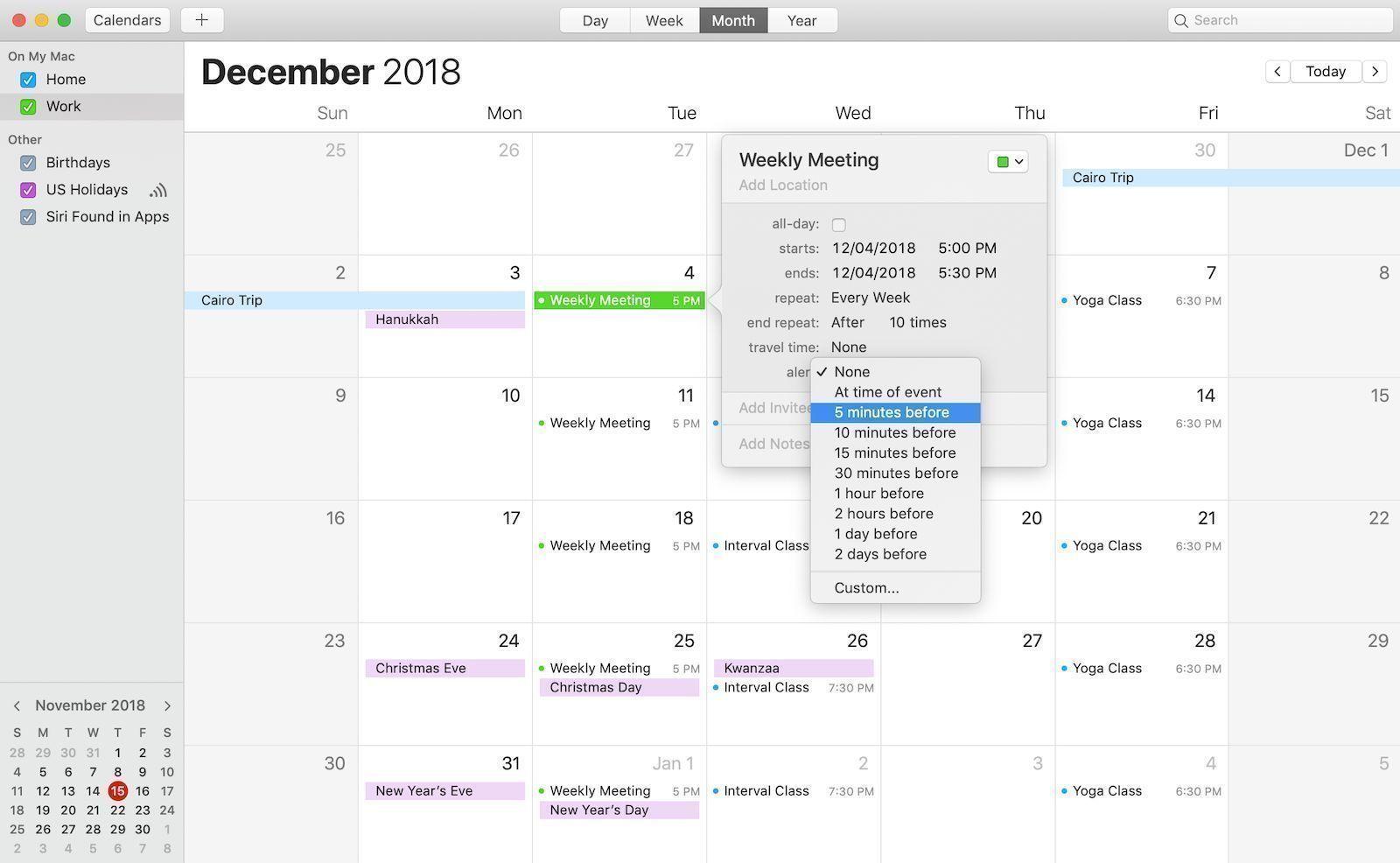 weekly to do calendar