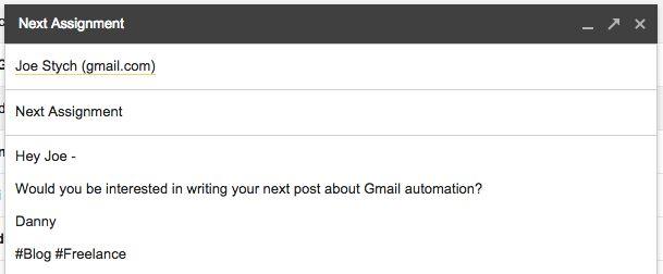gmail hashtags