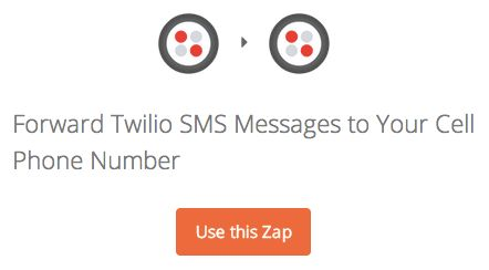 Forward Twilio SMS Messages to Your Cell Phone Number