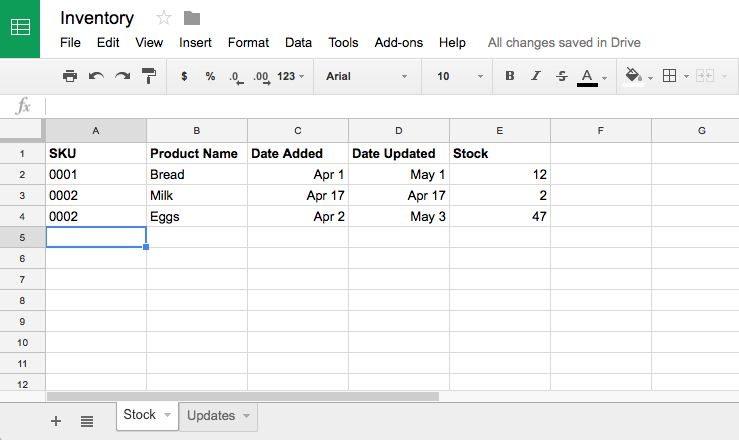 How to Manage Inventory in Google Sheets with Google Forms - How to
