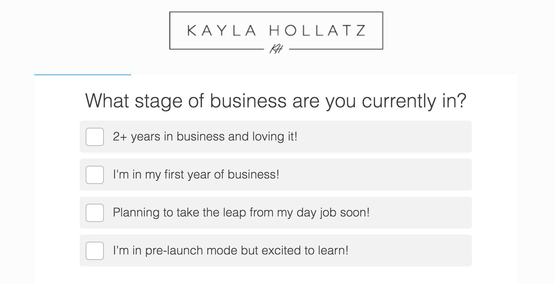 Kayla Hollatz quiz