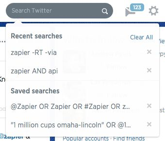saved searches example