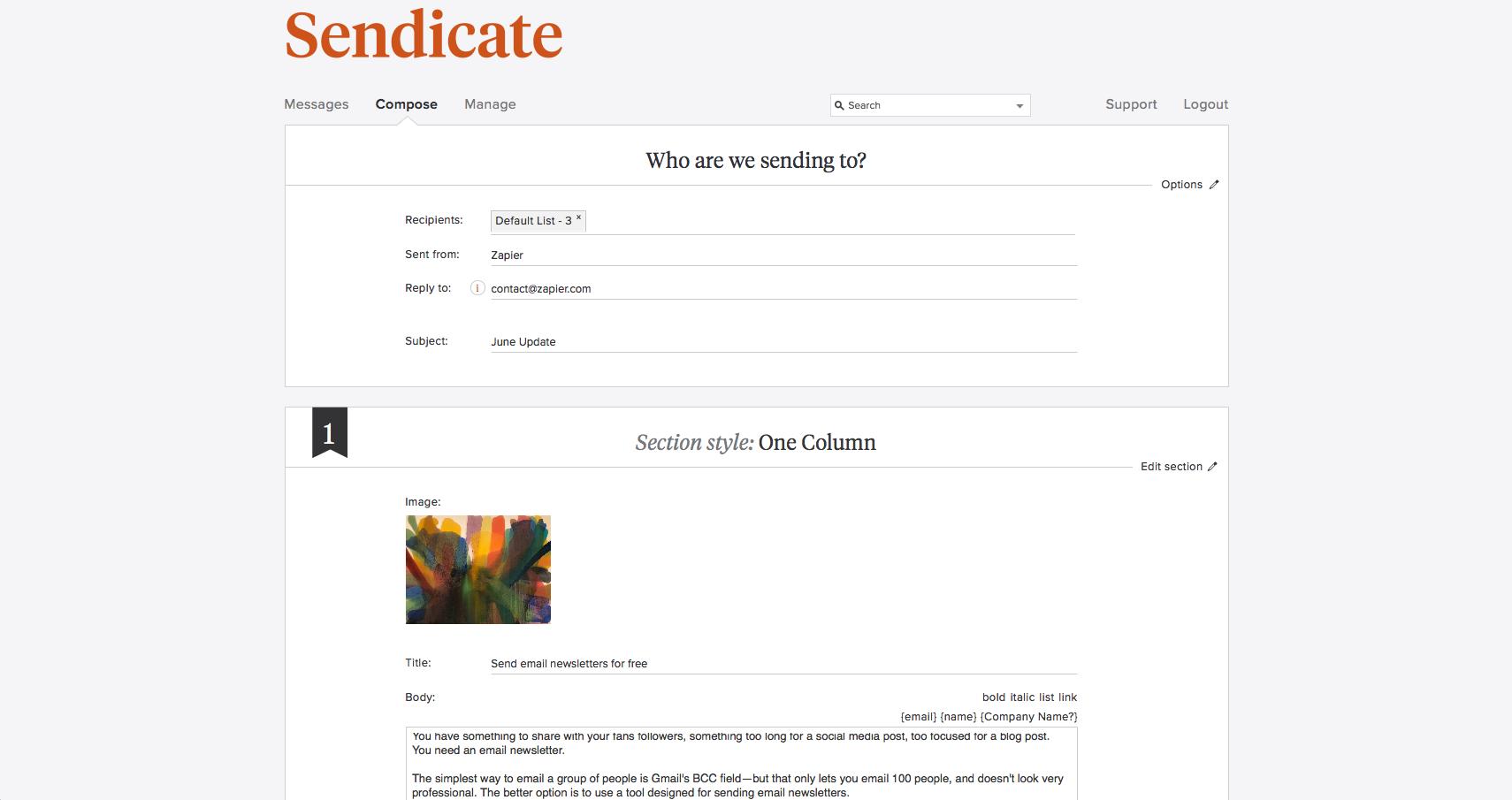 emailing automate gratuit