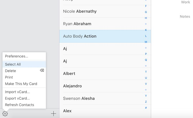 How to Consolidate All Your Contacts Into One List