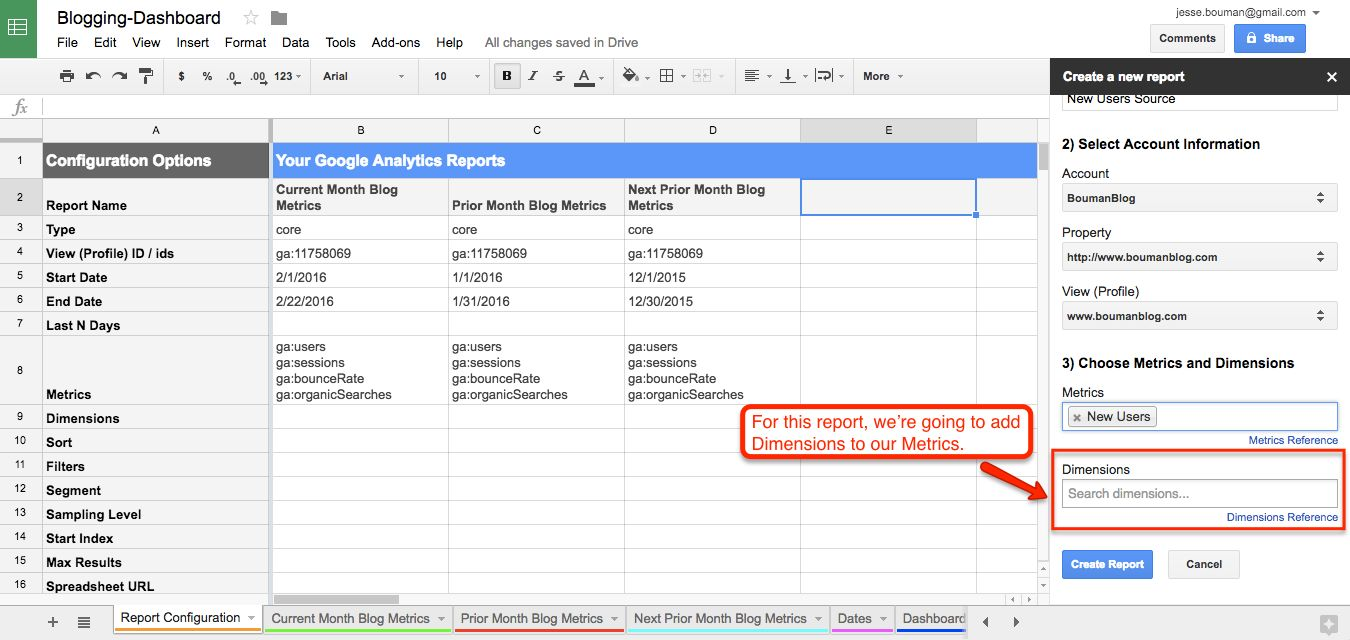 How To Create A Custom Business Analytics Dashboard With Google Sheets The Ultimate Guide To Google Sheets Zapier