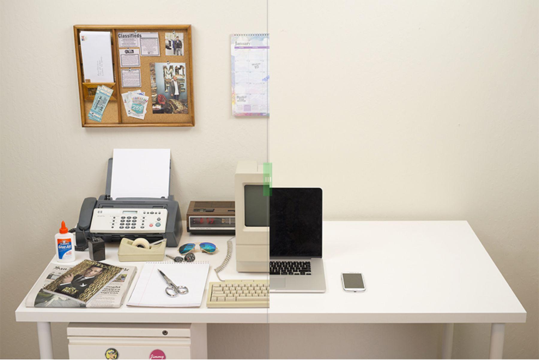 Evolution of the desk