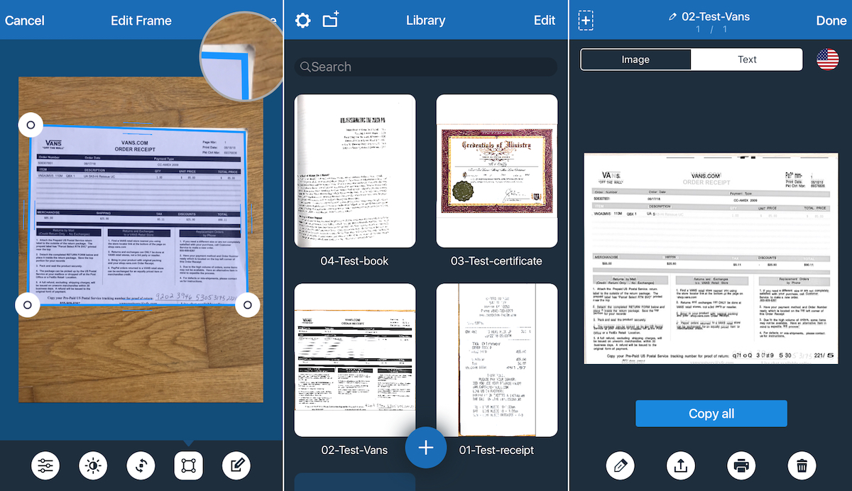 Image of: Postepic Scanner For Me Ocr Geckoandfly The Best Apps For Mobile Scanning And Ocr