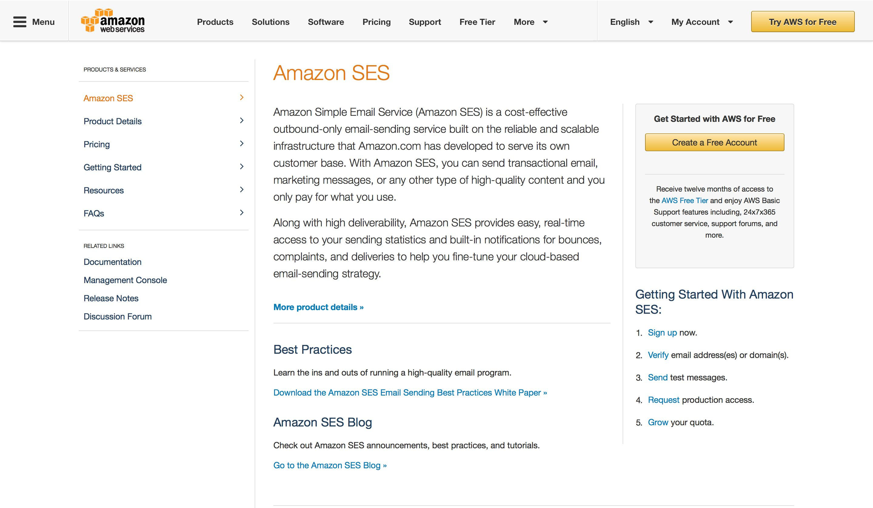 Amazon SES - Features, Pricing, Alternatives, and More | Zapier