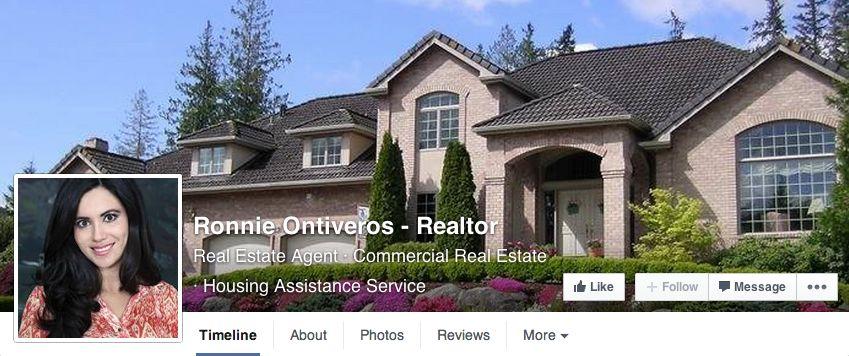 Realtor Ronni Ontiveros on Facebook