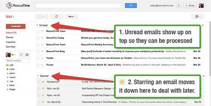 Robby's Gmail setup