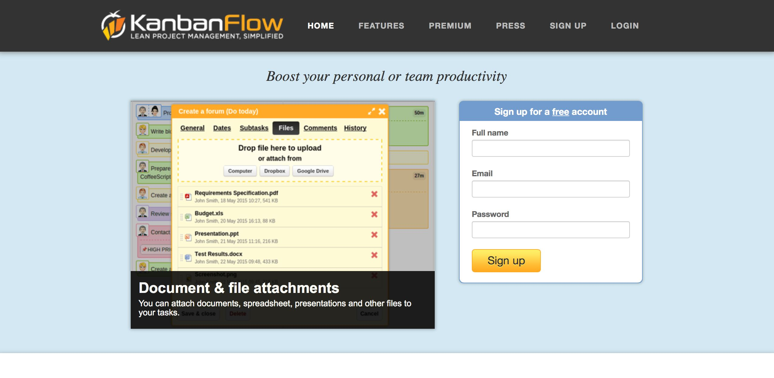 KanbanFlow - Features, Pricing, Alternatives, and More | Zapier