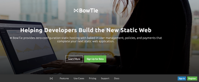 Image for Build Feature Rich Static Websites with BowTie