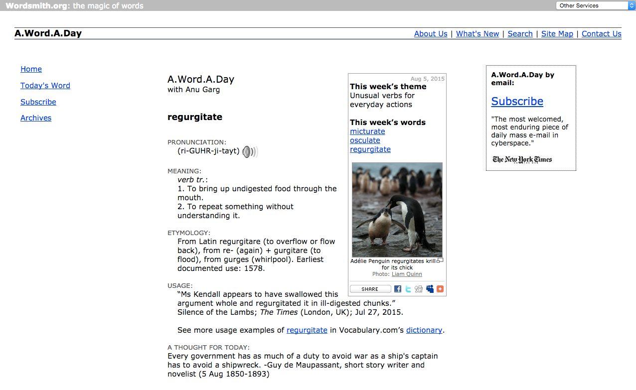 A.Word.A.Day with Anu Garg