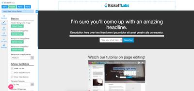 KickoffLabs Screenshot (2)