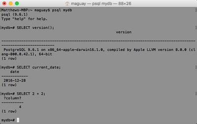 PostgreSQL Screenshot (3)