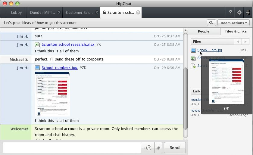 Early HipChat