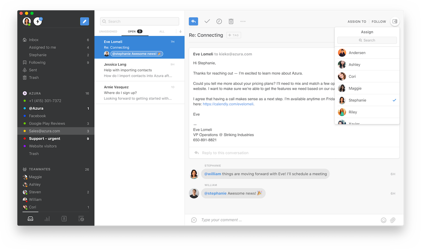 email client for mac and pc