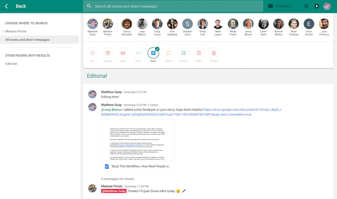 Everything You Need to Know About the New Google Hangouts Chat