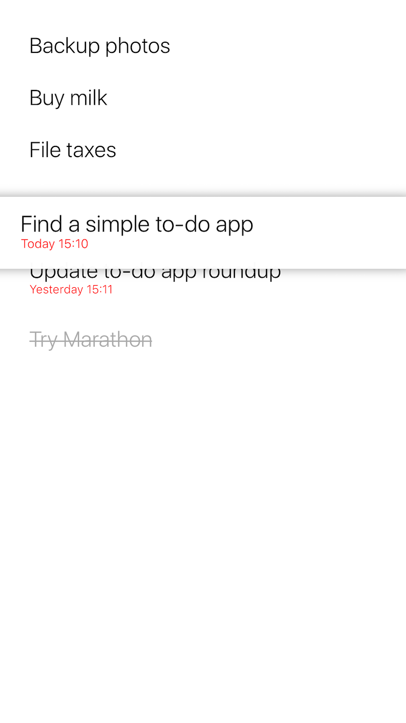to do list simple