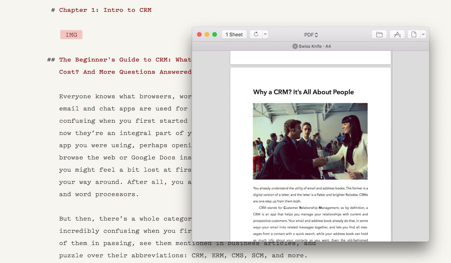 Markdown publishing from Ulysses