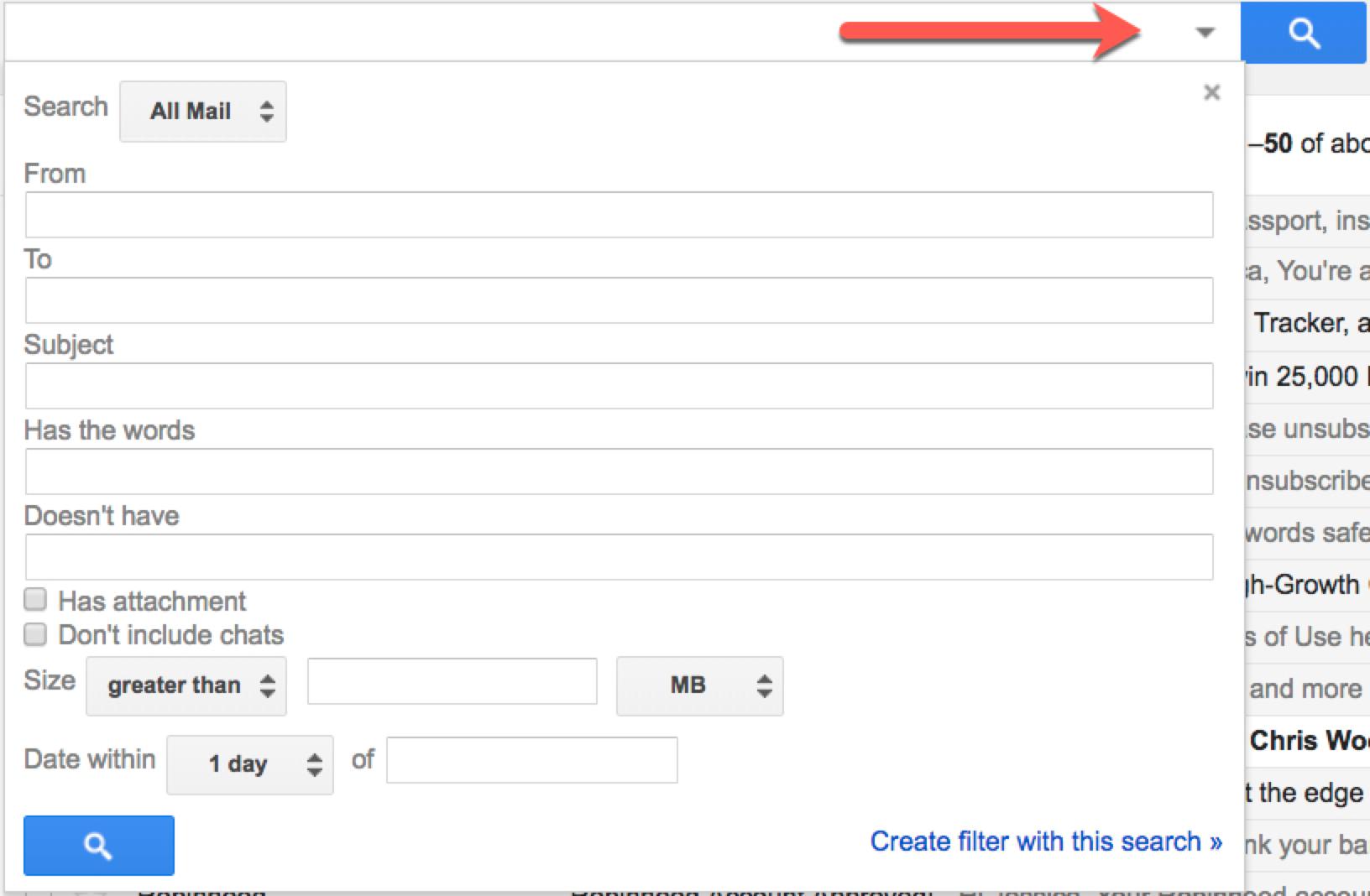 Google mail archive folder