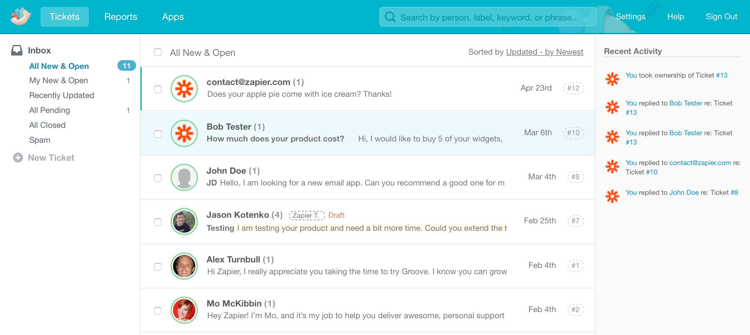 team inbox