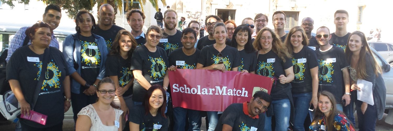 ScholarMatch volunteers