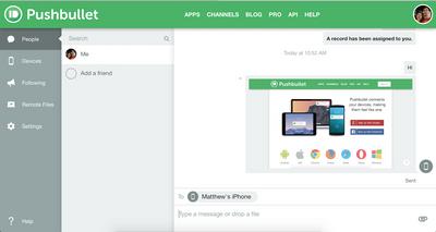 Pushbullet Screenshot (1)