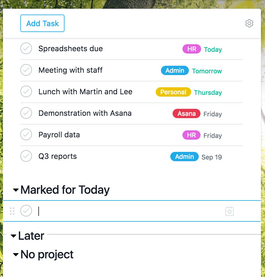 Auto-Promotion feature in Asana