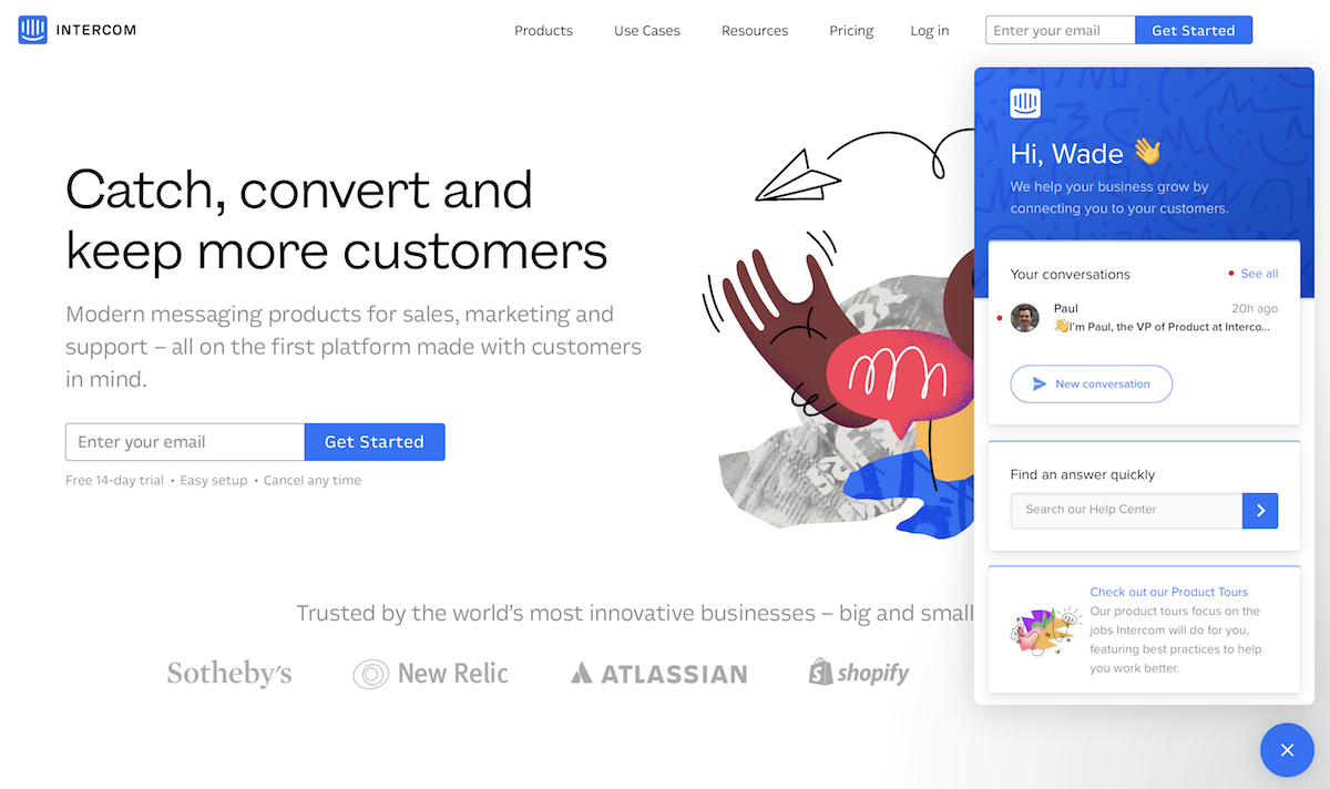Thumbnail for New for Intercom: Share New Articles, Gather Leads, and Let Customers Help Themselves from Intercom Messenger