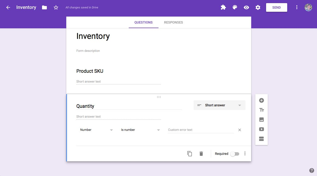 How to Manage Inventory in Google Sheets with Google Forms